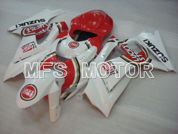 Suzuki GSXR1000 2007-2008 Injection ABS Fairing - Lucky Strike - Red White - MFS2671