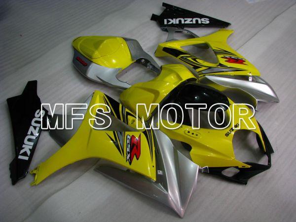 Suzuki GSXR1000 2007-2008 Injection ABS Fairing - Factory Style - Yellow - MFS2673