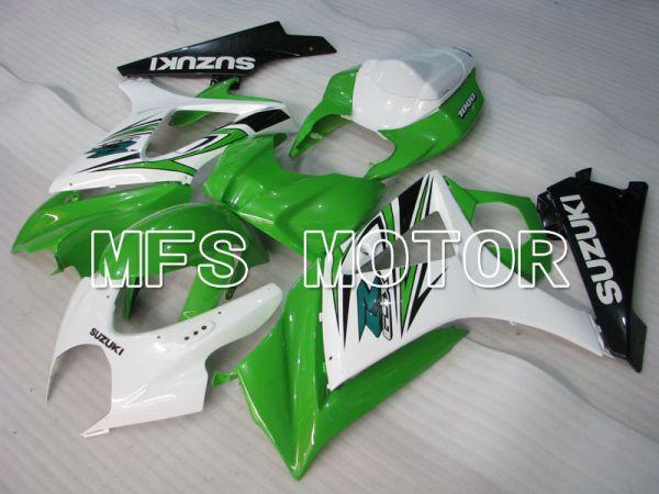 Suzuki GSXR1000 2007-2008 Injection ABS Fairing - Factory Style - White Green - MFS2676