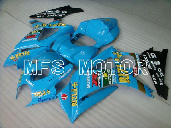 Suzuki GSXR1000 2007-2008 Injection ABS Fairing - Rizla+ - Blue - MFS2681