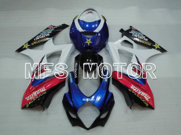 Suzuki GSXR1000 2007-2008 Injection ABS Fairing - Rockstar - White Blue - MFS2683