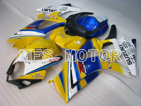 Suzuki GSXR1000 2007-2008 Injection ABS Fairing - Corona - Blue Yellow - MFS2689