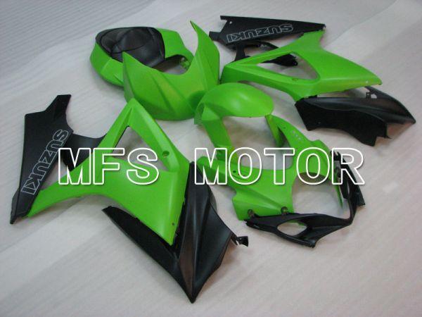 Suzuki GSXR1000 2007-2008 Injection ABS Fairing - Factory Style - Black Green Matte - MFS2692
