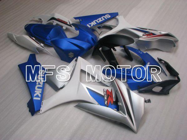 Suzuki GSXR1000 2007-2008 Injection ABS Fairing - Factory Style - White Blue - MFS2693