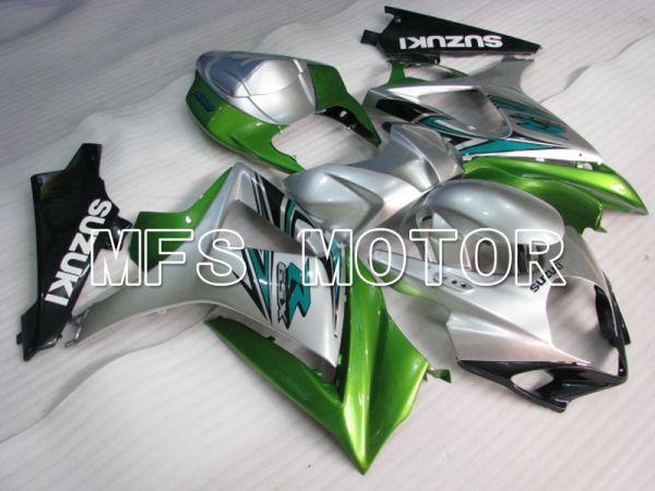 Suzuki GSXR1000 2007-2008 Injection ABS Fairing - Factory Style - Silver Green - MFS2696