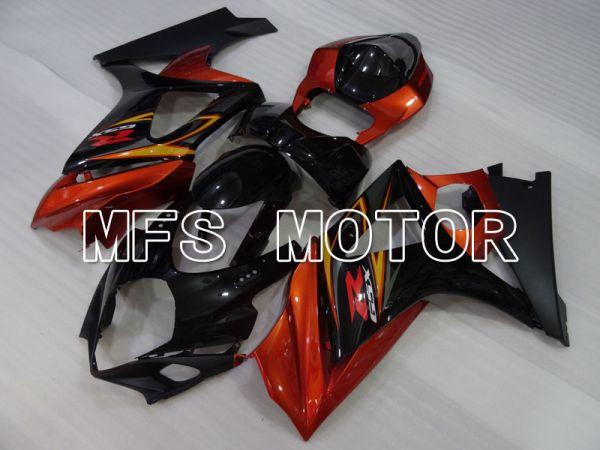 Suzuki GSXR1000 2007-2008 Injection ABS Fairing - Factory Style - Black Orange - MFS2698