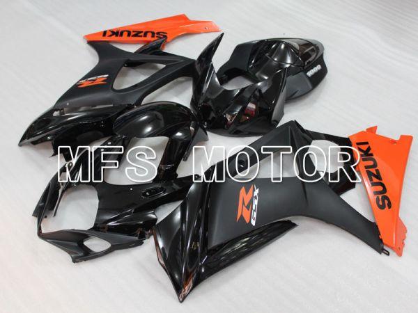 Suzuki GSXR1000 2007-2008 Injection ABS Fairing - Factory Style - Black Orange - MFS2699