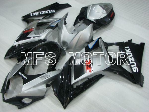 Suzuki GSXR1000 2007-2008 Injection ABS Fairing - Factory Style - Black Silver - MFS2700