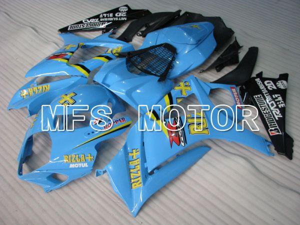 Suzuki GSXR1000 2007-2008 Injection ABS Fairing - Rizla+ - Blue - MFS2704