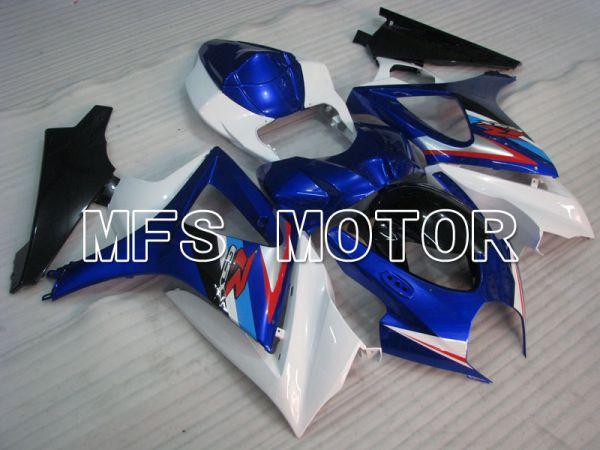 Suzuki GSXR1000 2007-2008 Injection ABS Fairing - Factory Style - White Blue - MFS2706