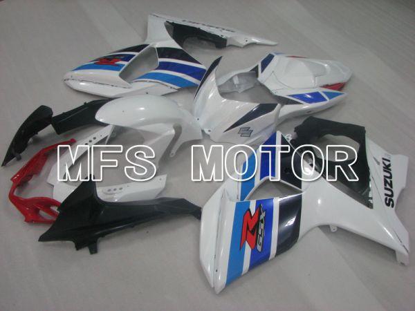 Suzuki GSXR1000 2009-2016 Injection ABS Fairing - Factory Style - White Blue - MFS2709