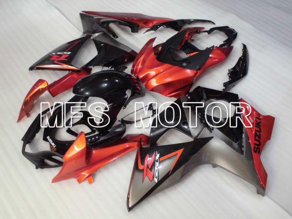 Suzuki GSXR1000 2009-2016 Injection ABS Fairing - Factory Style - Black Orange - MFS2713