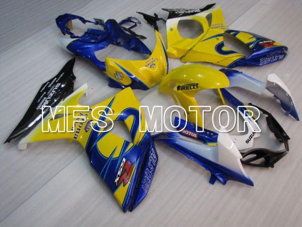 Suzuki GSXR1000 2009-2016 Injection ABS Fairing - Corona - Yellow Blue - MFS2714