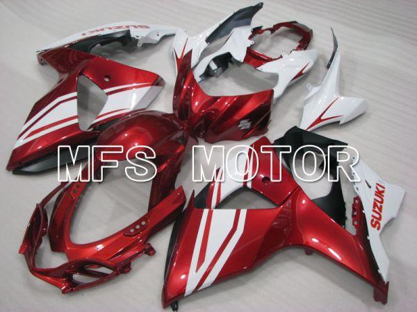 Suzuki GSXR1000 2009-2016 Injection ABS Fairing - Factory Style - White red - MFS2722