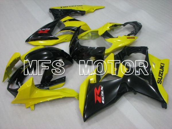 Suzuki GSXR1000 2009-2016 Injection ABS Fairing - Factory Style - Black Yellow - MFS2725