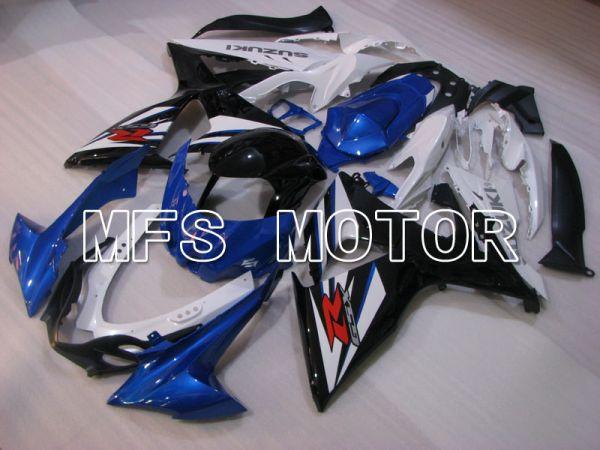Suzuki GSXR1000 2009-2016 Injection ABS Fairing - Factory Style - Black White Blue - MFS2733