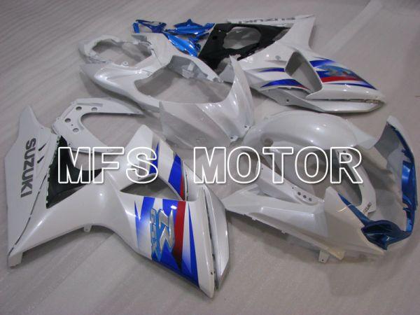 Suzuki GSXR1000 2009-2016 Injection ABS Fairing - Factory Style - White Blue - MFS2734