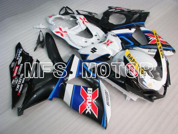 Suzuki GSXR1000 2009-2016 Injection ABS Fairing - BRUX - Black White - MFS2735