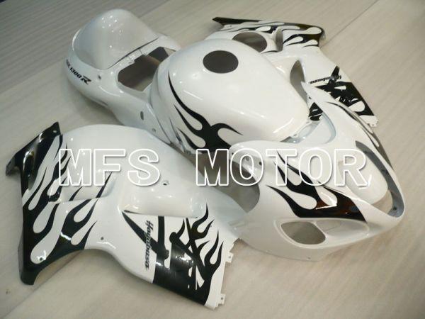 Suzuki GSXR1300 Hayabusa 1999-2007 Injection ABS Fairing - Flame - Black White - MFS2800