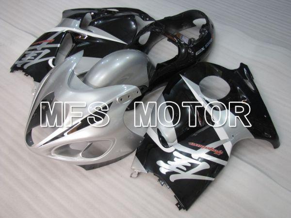 Suzuki GSXR1300 Hayabusa 1999-2007 Injection ABS Fairing - Factory Style - Black Silver - MFS2801