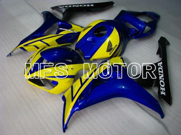 Honda CBR1000RR 2006-2007 Injection ABS Fairing - Factory Style - Blue Yellow - MFS2875