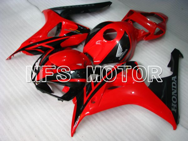 Honda CBR1000RR 2006-2007 Injection ABS Fairing - Factory Style - Black Red - MFS2876