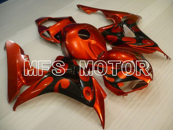 Honda CBR1000RR 2006-2007 Injection ABS Fairing - Factory Style - Black Orange - MFS2880