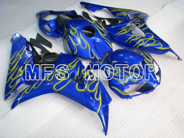 Honda CBR1000RR 2006-2007 Injection ABS Fairing - Flame - Blue - MFS2885