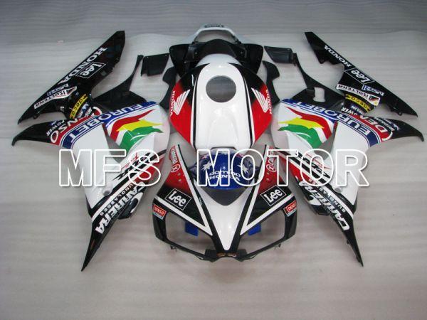 Honda CBR1000RR 2006-2007 Injection ABS Fairing - Eurobet - Black White - MFS2887