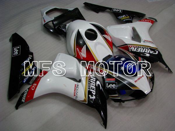 Honda CBR1000RR 2006-2007 Injection ABS Fairing - CARRERA - Black White - MFS2888