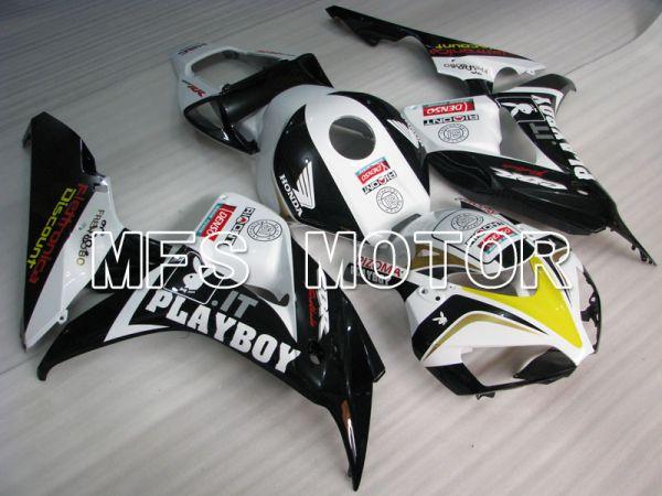 Honda CBR1000RR 2006-2007 Injection ABS Fairing - PlayBoy - Black White - MFS2895