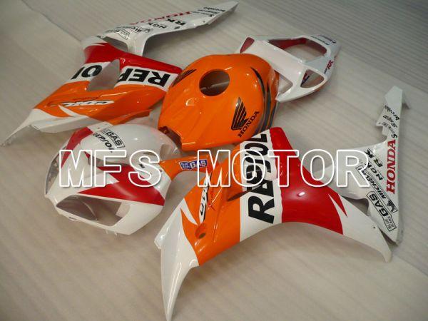 Honda CBR1000RR 2006-2007 Injection ABS Fairing - Repsol - Orange Red White - MFS2897