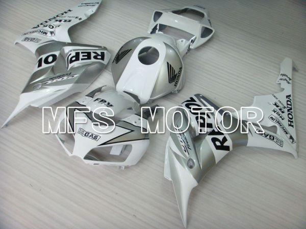 Honda CBR1000RR 2006-2007 Injection ABS Fairing - Repsol - Silver White - MFS2898