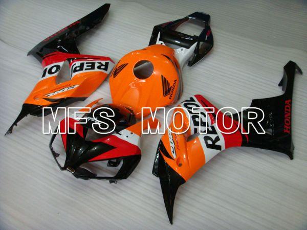Honda CBR1000RR 2006-2007 Injection ABS Fairing - Repsol - Orange Red Black - MFS2899