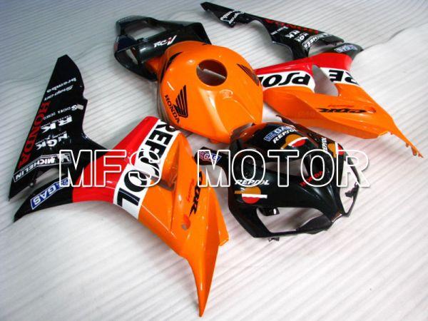 Honda CBR1000RR 2006-2007 Injection ABS Fairing - Repsol - Orange Red Black - MFS2900