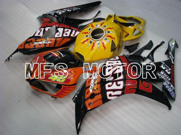 Honda CBR1000RR 2006-2007 Injection ABS Fairing - Others - Orange Yellow Black - MFS2901