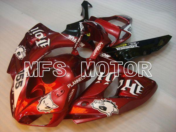 Honda CBR1000RR 2006-2007 Injection ABS Fairing - PLANNELS - Black Orange - MFS2905