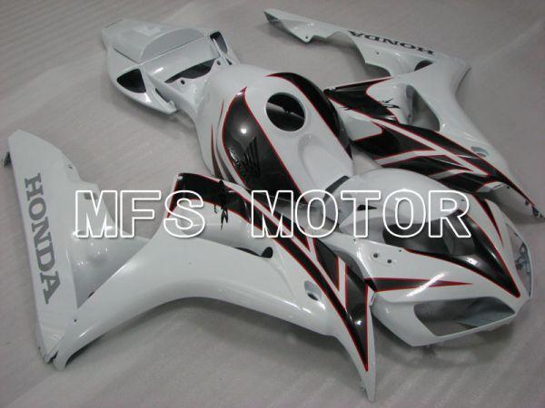 Honda CBR1000RR 2006-2007 Injection ABS Fairing - Factory Style - Black White - MFS2907