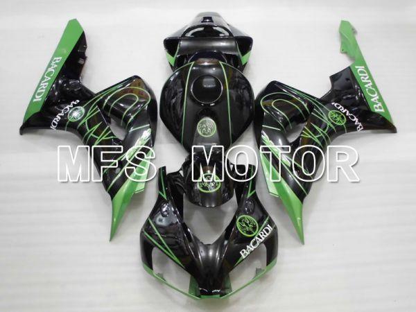 Honda CBR1000RR 2006-2007 Injection ABS Fairing - BACARDI - Black Green - MFS2908