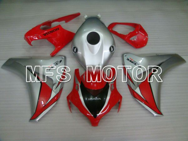 Honda CBR1000RR 2008-2011 Injection ABS Fairing - Factory Style - Red Silver - MFS2941