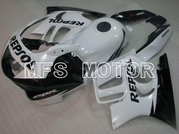Honda CBR600 F3 1997-1998 Injection ABS Fairing - Repsol - Black White - MFS3060