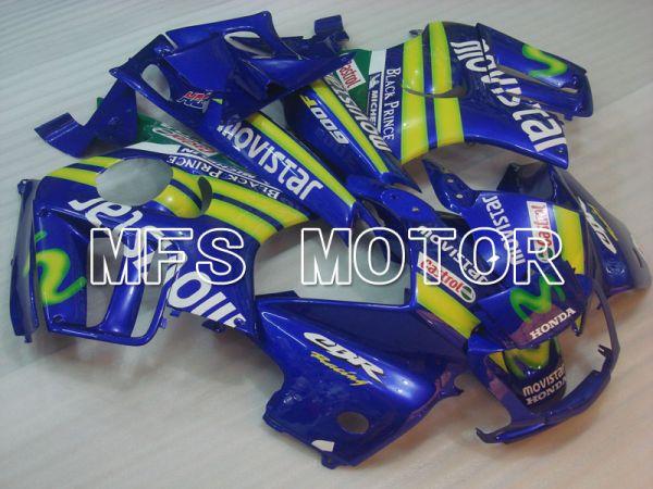 Honda CBR600 F3 1997-1998 Injection ABS Fairing - Movistar - Blue - MFS3065