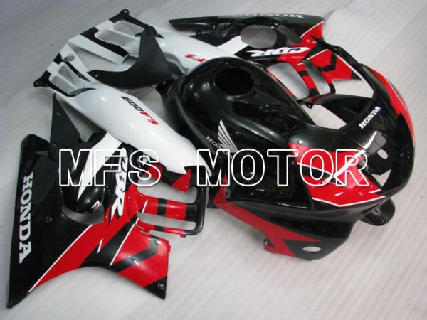 Honda CBR600 F3 1997-1998 Injection ABS Fairing - Factory Style - Black Red - MFS3066