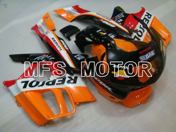 Honda CBR600 F3 1995-1996 Injection ABS Fairing - Repsol - Black Orange Red - MFS3054