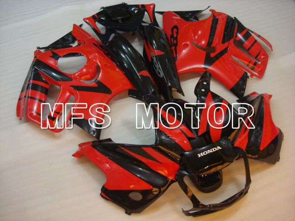 Honda CBR600 F3 1995-1996 Injection ABS Fairing - Factory Style - Black Red - MFS3057