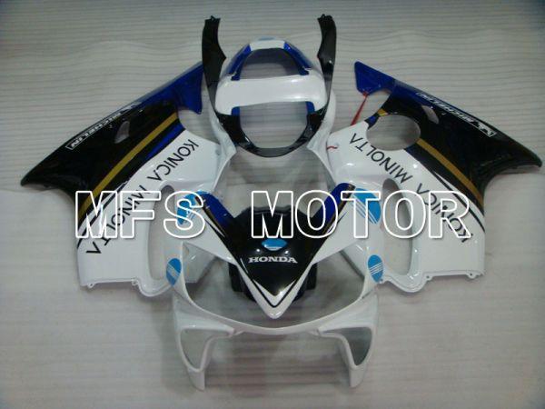 Honda CBR600 F4i 2001-2003 Injection ABS Fairing - Konica Minolta - Black White - MFS3147