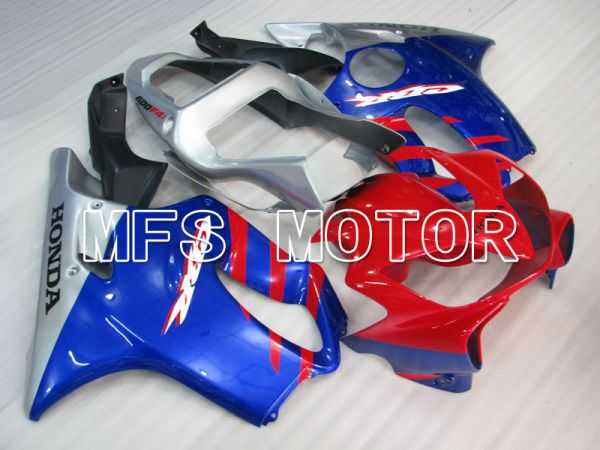 Honda CBR600 F4i 2001-2003 Injection ABS Fairing - Factory Style - Blue Red Silver - MFS3157