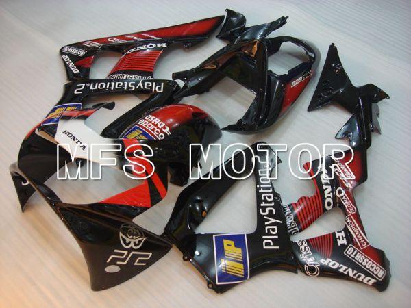 Honda CBR900RR 929 2000-2001 Injection ABS Fairing - Play Station - Black Red - MFS3210