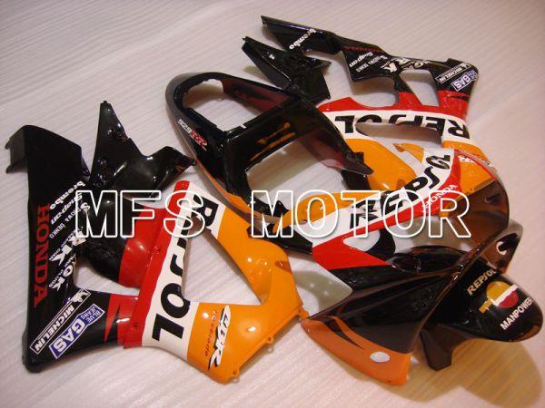 Honda CBR900RR 929 2000-2001 Injection ABS Fairing - Repsol - Black Orange Red - MFS3211