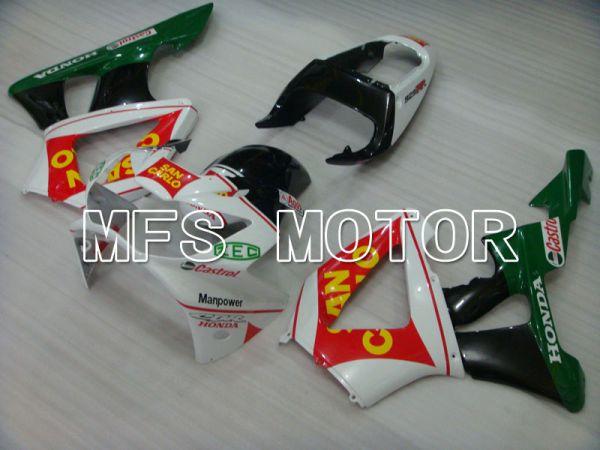 Honda CBR900RR 929 2000-2001 Injection ABS Fairing - San Carlo - Green White - MFS3212